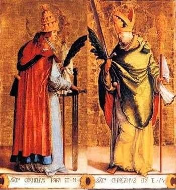 Saints Cornelius and Cyprian