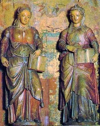 Saints Nunilo and Alodia