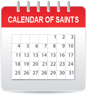 Calendar of Saints
