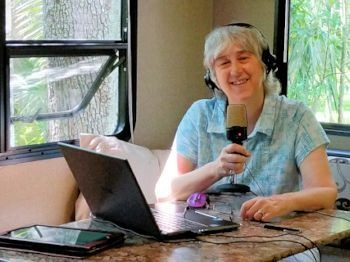 Terry Modica podcasting